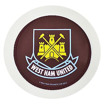 West Ham FC Official Round Football Crest Car Tax Disc Holder