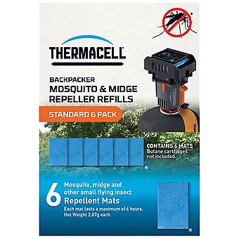 Thermacell Blue standaard 6-pack matten