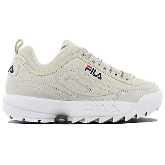 Fila Disruptor S Low 1010436.30H Damen Schuhe Grau Sneakers Sportschuhe