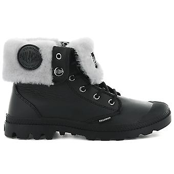 Palladium Baggy S W 96433-008-M Women's Boots Black Sneakers Sports Shoes