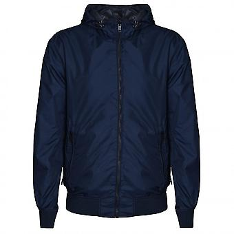 Replay Men's Blue/Grey Reversible Jacket