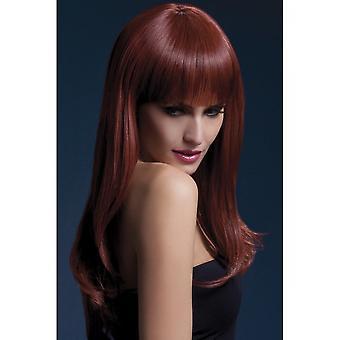 Smiffy's Fever Sienna Wig - Auburn