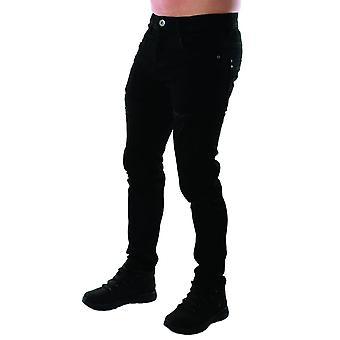 Eto Jeans | Apt Em625 Msw Distressed Skinny Hyper Stretch Reflex Denim Jean