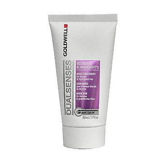 Double sens de Goldwell 60 Second traitement 50ml pour Blonde & faits saillants
