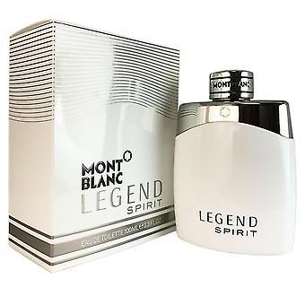 Legende ånd for mænd af montblanc 3,3 oz eau de toilette spray