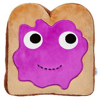 """Yummy Breakfast Toast 10"""" Plush"""