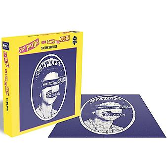 Sex Pistols God Save The Queen 500 pc jigsaw puzzle 410mm x 410mm (ze)