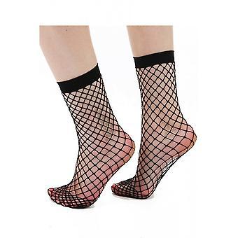 Pamela Mann Extra Large Net Ankle Socks