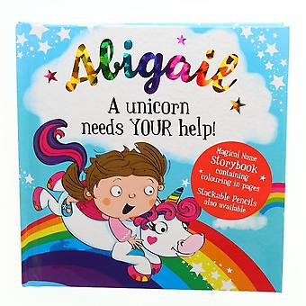 History & Heraldry Magical Name Storybook - Abigail