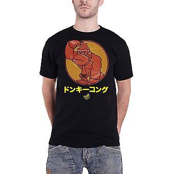 Esel Kong T Skjorte Japansk Kong nye Offisielle Menns Svart