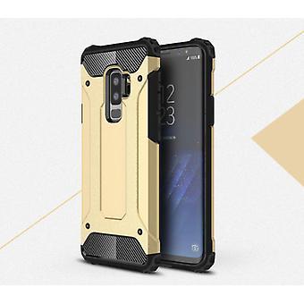 Stoff zertifiziert® Samsung Galaxy Note 9 - Rüstung Fall Abdeckung Cas TPU Fall Gold