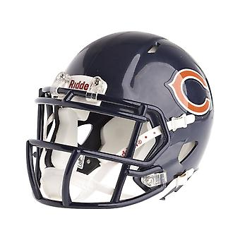 Riddell mini football helmet - NFL Chicago Bears speed