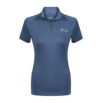 LeMieux Lemieux My Lemieux Womens Airtec Uv Shirt - Ice Blue/grey