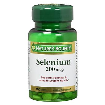 Natures Bounty Selen 200 Mcg, Tabletten, 100 Stück