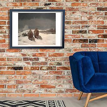 Winslow Homer - Below Zero Poster Print Giclee