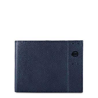 Piquadro Original Men All Year Wallet - Blue Color 55349