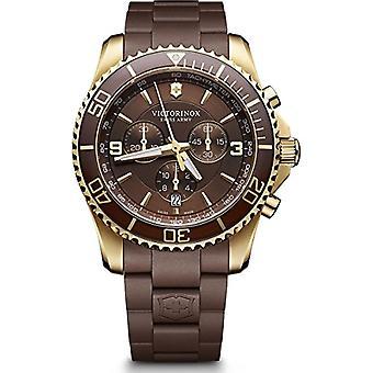 Victorinox Maverick Chronograph Armbanduhr Kunststoff Mann-241692 Lünette