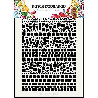 Hollandsk Doobadoo hollandske Mask Art Squares A5 470.715.128