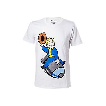Fallout 4 - Vault Boy Bomber Men's T-Shirt
