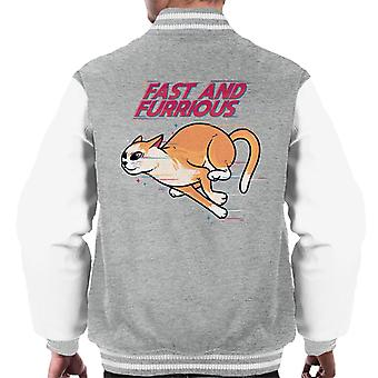 Fast And Furrious Men's Varsity Jacket