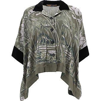 Sacai 2004830501 Chemise en polyester multicolore pour femmes;s
