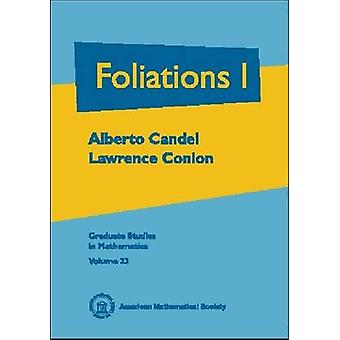 Foliations - Volume 1 - 9780821808092 Book