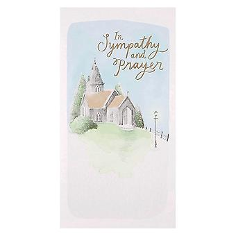 Hallmark In Sympathy And Prayer - Sympathy Bereavement Card 25489068