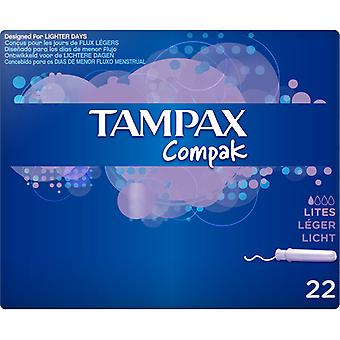 Light Tampon Compak Tampax (22 uds)