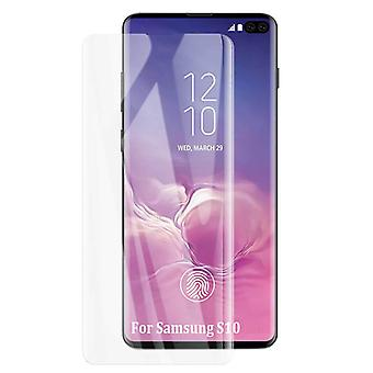 iCoverCase | Samsung Galaxy S10 | 2-Pack Screen Protector Tempered Glass