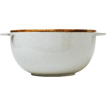 Avenue Lucha Wheat Straw Salad Bowl With Servers