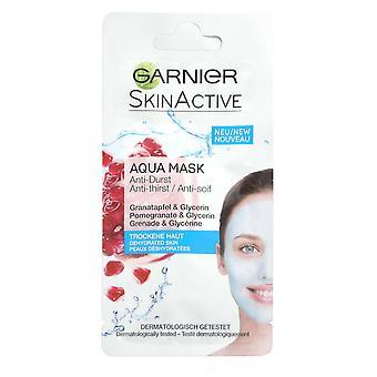 Garnier Skinactive Aqua Mask voor je gezicht Anti Dorst 8ml Granaatappel en Glycerine ReHydrate
