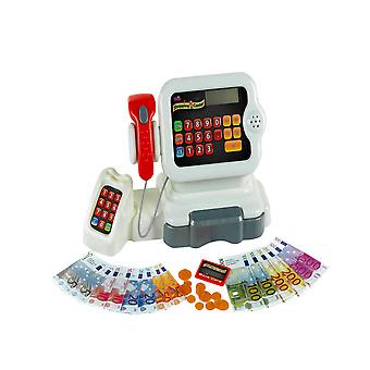 theo klein electronic shopping centre cash register for ages 3 and above