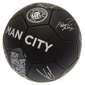 مانشستر سيتي نادي فانتوم التوقيع لكره القدم