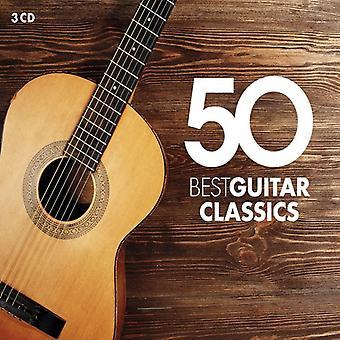 Various Artist - 50 Best Guitar Classics [CD] USA import