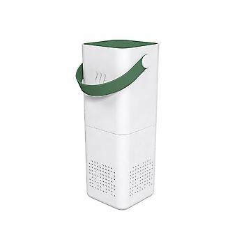 Portabel luftrenare - Vit och mörkgrön
