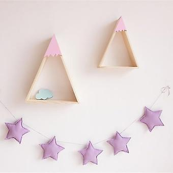 Handmade Nursery Star Garlands - Kids Room Decorations & Prop