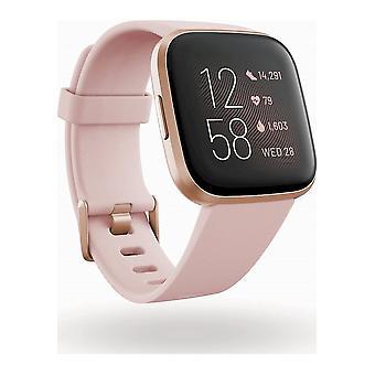 fitbit - Smartwatch - Versa 2 (NFC) - Petal-Copper Rose - FB507RGPK