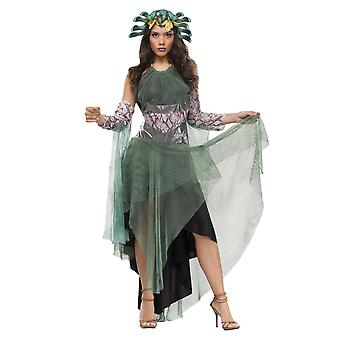 Fantasy Medusa Greek Mythology Goddess Women Costume