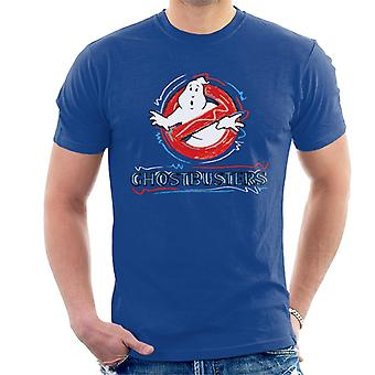 Ghostbusters Drawn Logo Men's T-Shirt