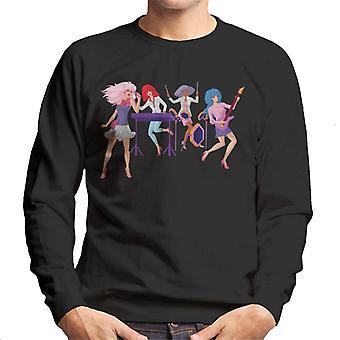 Jem And The Holograms Singing Men's Sweatshirt