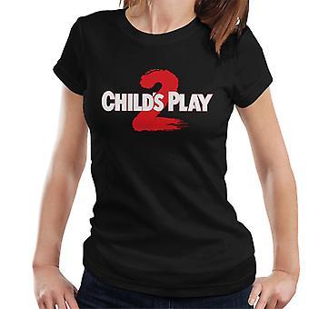 Chucky Childs Play 2 Logo Women's T-Shirt