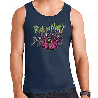 Rick en Morty 4 eyed monster mannen ' s vest