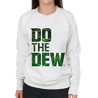 Mountain Dew Do The Dew Laser Women's Sweatshirt
