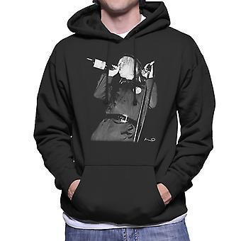 Jeffrey Lee Pierce du Gun Club hommes de Hooded Sweatshirt