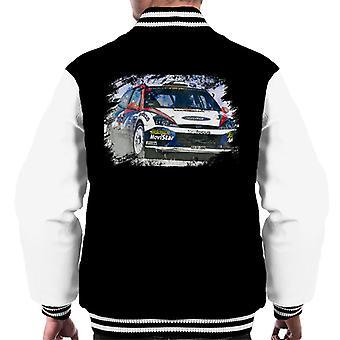 Motorsport Images WRC 2002 Ford Focus Men's Varsity Jacket