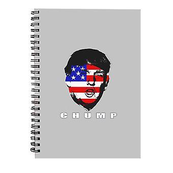Otro chump Donald Trump USA Spiral Notebook