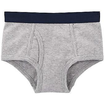 Einfache Freuden von Carter's Baby Boys' Kleinkind 8-Pack Unterwäsche, grau/blau/Feuer T...