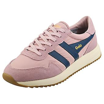 Gola Vancouver Womens Fashion Trainers in Pink Blue