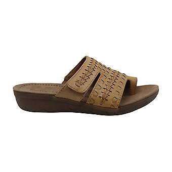 BareTraps Jeaney Wedge Slide Sandals, Black
