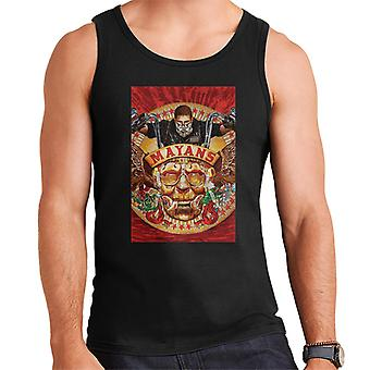 Mayans M.C. Motorcycle Club George Yepes Poster Artwork Men's Vest